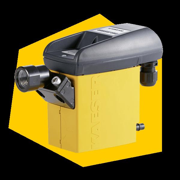 Zur Drucklufttrocknung können verschiedene Trockner eingesetzt werden. Hier ein Kondensatabscheider