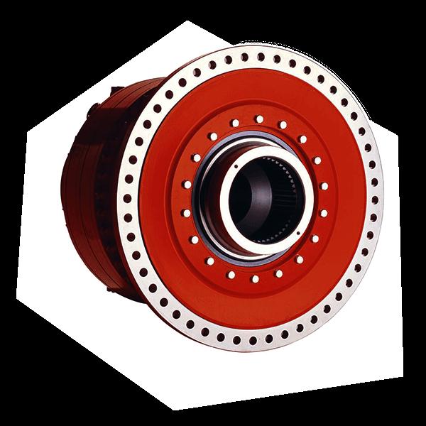 Radialkolbenmotor aus der Hydraulik