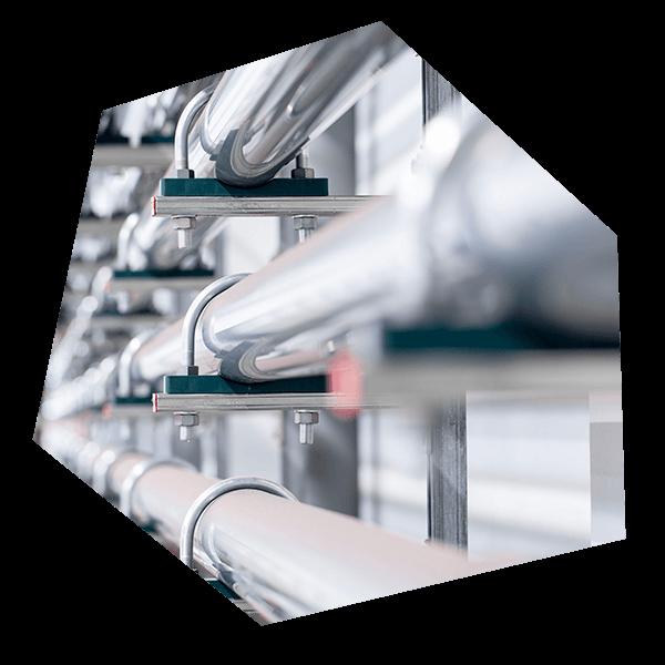 Verbindungstechnik bei einer Druckluft Verrohrung
