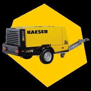 Mobiler Kompressor von Kaeser