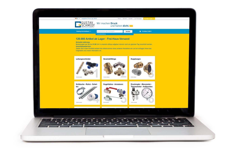 Einkaufen bei Gustav Schmidt: Unser Onlineshop