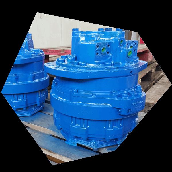 Hydraulikmotoren für den geräuscharmen Antrieb in Ihrer Anlage