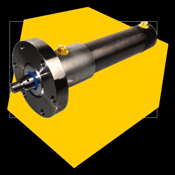 In einer Hydraulikanlage finden sich auch Hydraulikzylinder