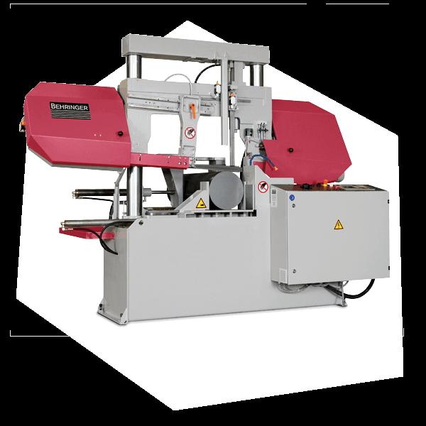 Eine Maschine zum Lohnsägen für Rohrzuschnitte