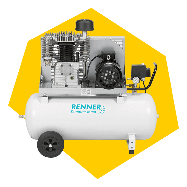 Der Renner als Beispiel für mobile Druckluftkompressoren