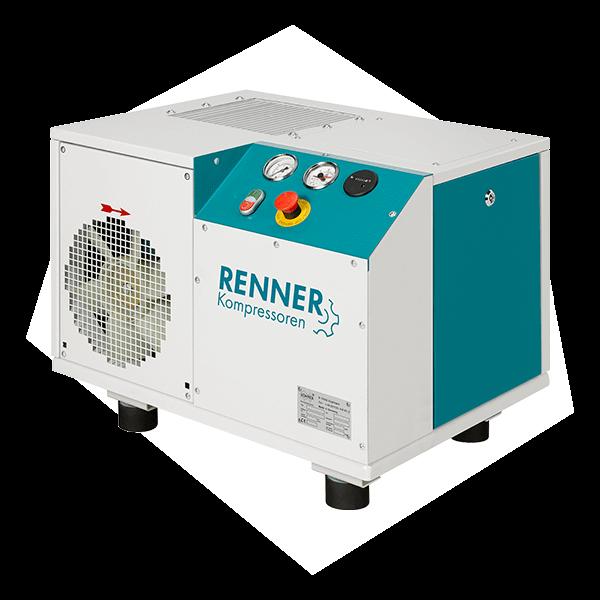 Ein Schrauben Kompressor von Renner