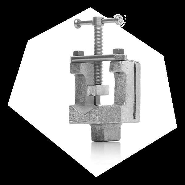 Mit der Absägevorrichtung von Parker können Rohre mit einem Durchmesser von 6 bis 42 mm gerade abgesägt werden..