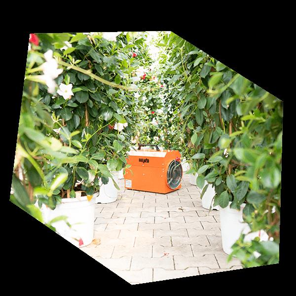 Heizgerät für Garten oder Floristik Center