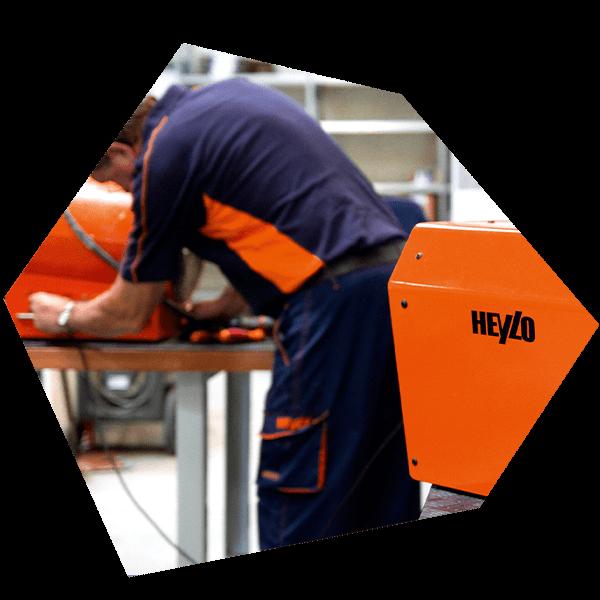 Heizer für Werkstatt oder mobile Techniker